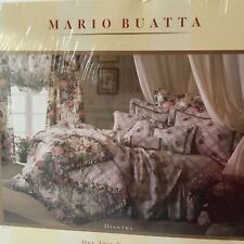 Mario Buatta Diantha Set Twin Fitted Sheet And 2 Pillowcases Trellis Grosgrain