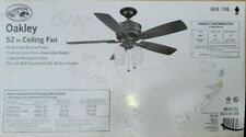 Hampton Bay Oakley 52 in. Indoor Oil-Brushed Bronze Ceiling Fan with Light  (43)