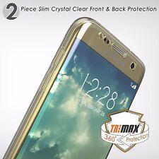Galaxy S7 Case,Tri Max®Clear Ultra Slim 360°Full Body Protection Hybrid Case