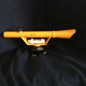 Berger Instruments Model 125 Surveyor's Surveying Transit Level