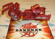 Bakugan Brachium Red Haos Maxus Dragonoid Trap & cards
