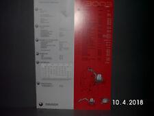 NEUSON MINI BAGGER 3003 PROSPEKT/BROSCHÜRE 2 Seiten  ALT&RAR