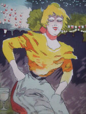 GUILLAUME Albert - Les Maîtres de l'Affiche - Lithographie Gigolette Cabaret