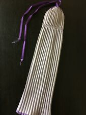Vintage A Genuine Barbie Fashion Purple Maxi Dress Pleated