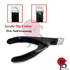 Acrylic False Nail Tip Cutter Clipper Nail Black Spring Manicure Tip Cutter CE