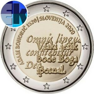 Ek // 2 euro Slovénie 2020 Roman Boharic