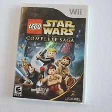 Nintendo Wii Lego Star Wars The Complete Saga CIB Tested & Works