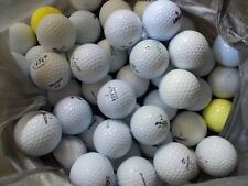 Golf Balls 60 Used Assorted Brands & Grades Mostly C for Practice