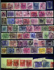 Austria old perfins small selection *b201110