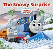 NEW - THOMAS and FRIENDS ( SNOWY SURPRISE ) small book STORY LIBRARY ( Halloween