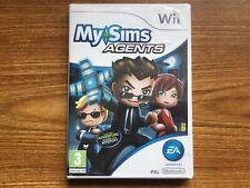 MySims Agents (Nintendo Wii) Brand New Sealed