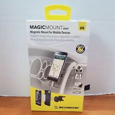 New Open Package Scosche MagicMount Magnetic Vent Mount For Cell Phones Mobile