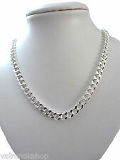 "CHUNKY 22"" SILVER PLATED CHAIN NECKLACE SUITABLE FOR MALE OR FEMALE"