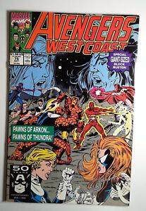 Avengers West Coast #75 (1991) Marvel 2.5 GD+ Comic Book
