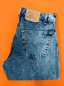 Levi Strauss 606 XX Vintage Blue Jeans 34 x 36 Made in USA