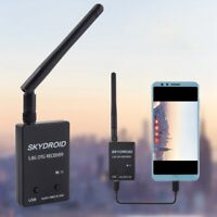 Skydroid 5.8Ghz 150CH True Diversity UVC OTG Smartphone FPV Receiver for Android