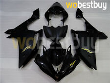 ABS Black Injection Plastic Body Kit Fairing Fit for YAMAHA 2007 2008 YZF R1 a21