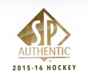 15/16 SP AUTHENTIC HOCKEY 2015-16 BASE TEAM SETS (ANA-WIN) U-Pick Team From List