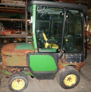 John Deere 1420/1435/1445 Front Mount Mower Deluxe Enclosed Cab/ Heat/ AC/Lights