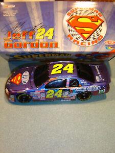 Jeff Gordon #24 DUPONT SUPERMAN 1999 Monte Carlo Action 1/24 B/W BANK