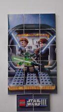 Lego Star Wars Clone Wars  STORM TROOPER YODA LUKE & OBI JIGSAW 17 Printed Tiles