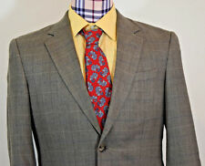 39R Jos. A. Bank Men's Classic Check Silk Wool Blazer Sport Coat Jacket