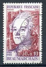 STAMP / TIMBRE FRANCE OBLITERE N° 1512 BEAUMARCHAIS