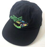 Kyle Petty Nascar Mello Yello 42 Vintage Hat Cap Made USA Snapback Nylon Black