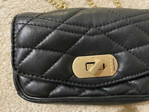 Zadig & Voltaire Black Skinny Love Clutch (w. TAGS) ) OG $298+TAX