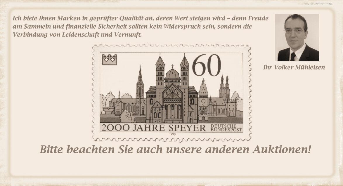 Briefmarken Mühleisen