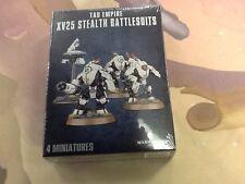 40K Warhammer Tau XV25 Stealth Battlesuits Box Sealed