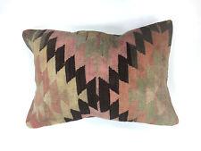 Turkish Moroccan Kilim Cushion Cover, Kelim Pillow 60x40 cm