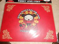 "tapis de souris rouge  PUCCA ""funny love"" - neuf"