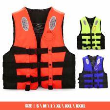 Adult Kids Life Jacket Kayak Ski Buoyancy Aid Sailing Swimming Boating Vest New