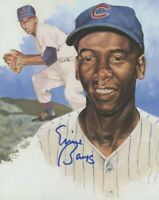 Ernie Banks 8x10 SIGNED PHOTO AUTOGRAPHED ( Cubs HOF ) REPRINT