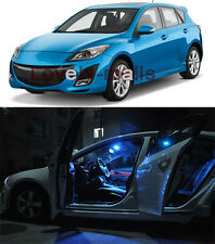 Ice Blue 6PCS Interior LED Light Package for Mazda 3 2010 2013 Sedan Hatchback