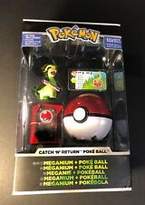 Pokemon Catch N Return Poke Ball  [ Meganium + PokeBall ] NEW