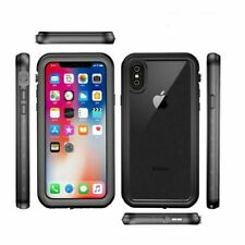 for Case Redpepper Waterproof to Black iPhone X/Xs 5.8 inch