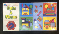 Vintage Early Learning Centre Spin a shape board game 1970's