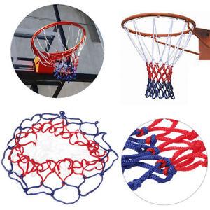 Durable Nylon Basketball Goal Hoop Net Standard 12 Hoop Red/White/Blue Sports