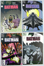 Batman 404 - 407 Year One Complete Frank Miller Story Line! EXCELLENT COPIES!