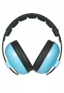 Baby Shells Ear Defenders Blue, 3mths+ Adjustable