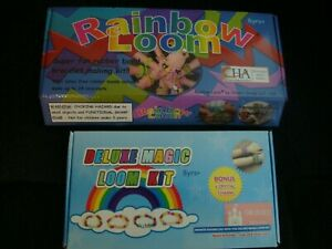 LOT OF 2 RAINBOW LOOM KITS DELUXE MAGIC