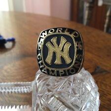 1996 New York Yankees Baseball SGA World Series Commemorative Replica Ring