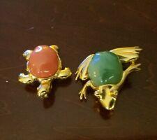 KJL KENNETH J LANE Pins Pendants Frog and Turtle