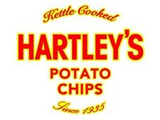 Hartley's Potatoe Chips 10oz size kettle cooked shipped-fresh
