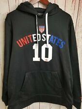 Umbro Hoodie USA US 10 Soccer United States Sz L Futbol Hoodie Jacket Sweatshirt