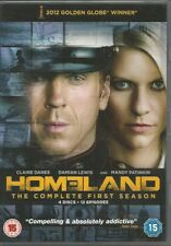 Homeland Season 1 (DVD,2012) FREE SHIPPING