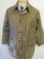 """Barbour A825 Classic Northumbria Waxed jacket - L 42"""" Euro 52 in Sage"""