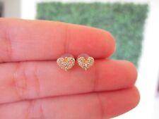 ".20 CTW Diamond Earrings 18k Yellow Gold JS56E sep ""V"""